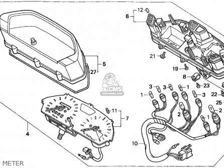 Honda Dominator 650 Wiring Diagram on dual sport wiring diagram