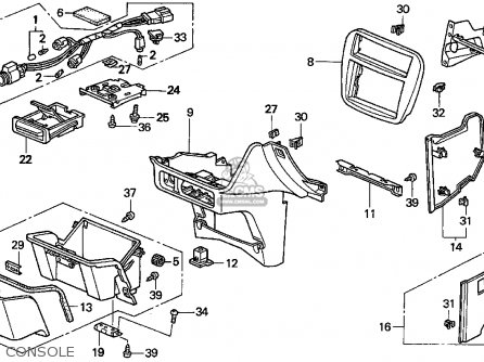 Locking Device For Honda Odyssey on honda passport parts diagram