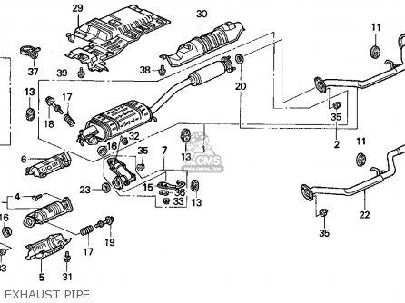 Honda Odyssey 1995 S 5dr Ex Ka Parts Lists And Schematics