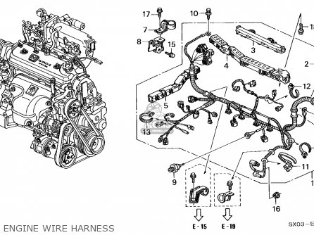 2006 Honda Accord Serpentine Belt Diagram