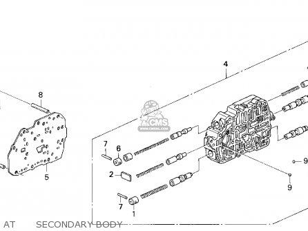 honda odyssey 1995  s  5dr lx 7 seats  ka  parts list