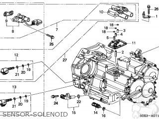 honda odyssey 1999 (x) 5dr lx 6 (ka) sensor-solenoid  sensor-solenoid  honda  odyssey 1999