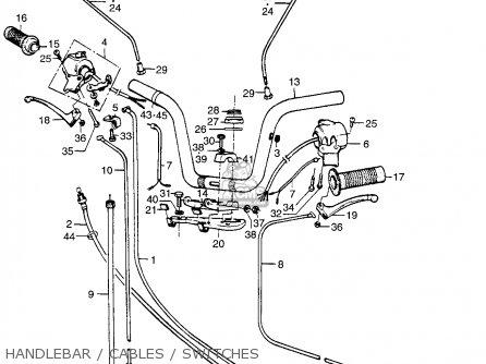 Honda Pa50i Hobbit 1979 Z Usa 20 Mph Parts Lists And Schematics