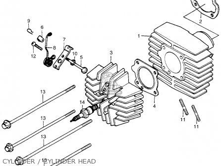 Honda Pa50ii Moped - 30 Mph 1981 Usa Cylinder   Cylinder Head