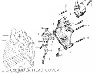 honda 130 outboard cylinder head