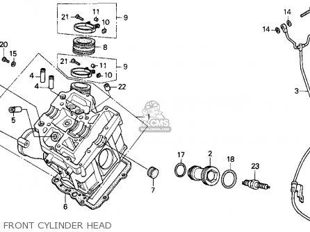 Honda Pc800 Ignition Diagram