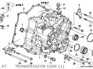 2003 honda pilot engine parts diagram