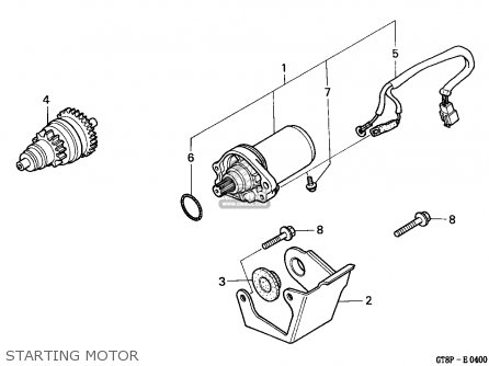 Honda Moped Engine Schematics