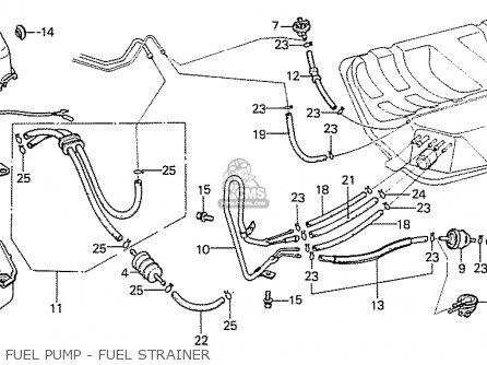 honda prelude 1979 z 1980 a hmt general export parts lists and rh cmsnl com Honda Civic Fuel Pump Relay 97 Honda Prelude Main Relay
