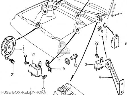 Honda Prelude 1980 A 2dr Kakhkl Parts Lists And Schematics