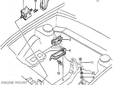 Honda Prelude 1981 B 2dr Kakhkl Parts Lists And Schematics