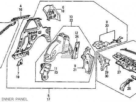 99 Honda Prelude Interior