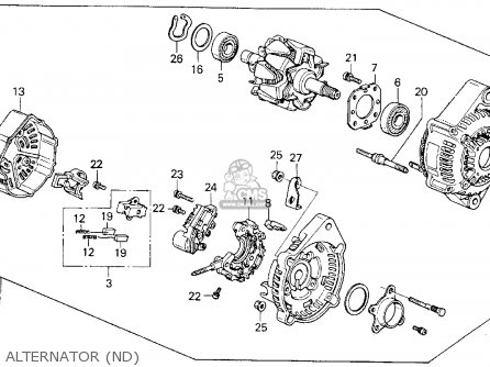 wiring diagram for a gm one wire alternator with Honda Prelude Si Alternator Wiring Diagram on Ftecref14 likewise Internally Regulated Alternator Wiring Diagram likewise Human Profile Diagram further Delco Cs130 Alternator Wiring Diagram besides Ford Front End Suspension Diagram.