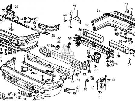 1989 Honda Accord Carburetor Diagram