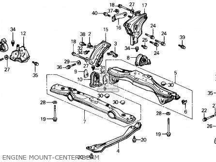 1989 honda prelude engine diagram honda prelude 1989 (k) 2dr 2.0s (ka,kl) parts list ...
