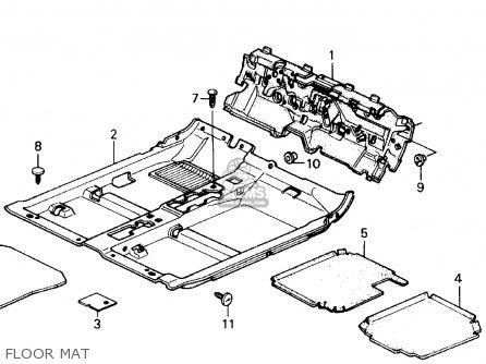 Honda Accord 1989 K 2dr Dx Kakl Interior Accessories Interior