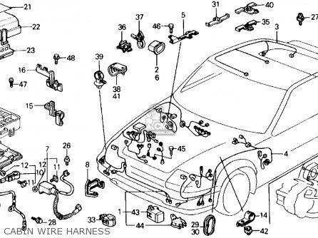 91 Civic Dashboard Wiring Diagram