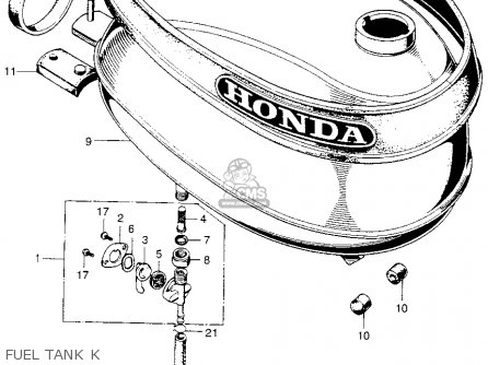 1971 honda ct90 parts diagram