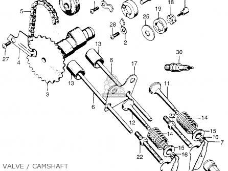 honda qa50 1975 k3 usa parts lists and schematics rh cmsnl com Honda QA50 History Honda XR75