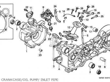 honda qr50 1991 m australia parts lists and schematics rh cmsnl com GCV160 Service Manual Honda Motorcycle Service Manual