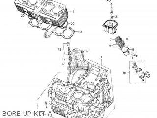 Honda Rs1000 Bore Up Kit A