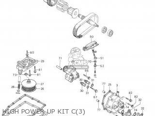 Honda Rs1000 High Power Up Kit C3
