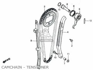 Honda Rs600 Camchain - Tensioner