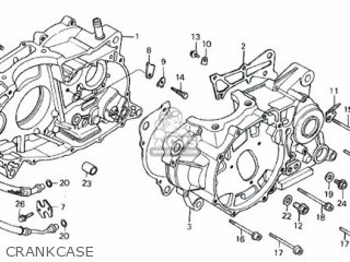 Honda Rs600 Crankcase