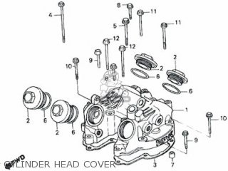 Honda Rs600 Cylinder Head Cover