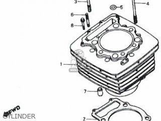 Honda Rs600 Cylinder