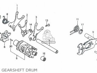Honda Rs600 Gearshift Drum