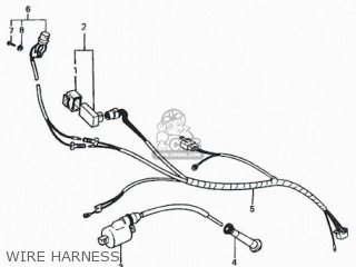 Honda Rs600 Wire Harness