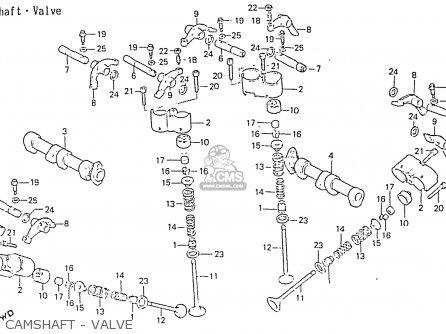 Honda Rs750d Camshaft - Valve