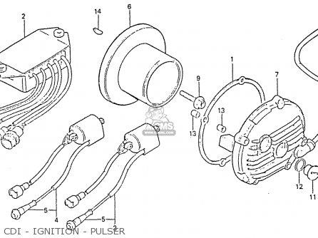 Honda Rs750d Cdi - Ignition - Pulser