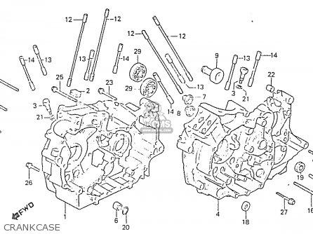 Honda Rs750d Crankcase