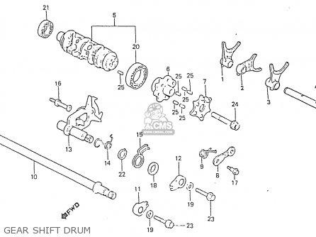 Honda Rs750d Gear Shift Drum