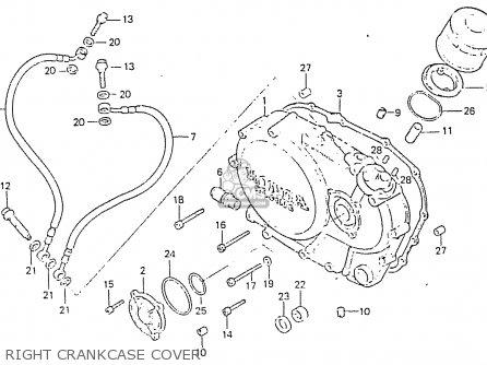 Honda Rs750d Right Crankcase Cover