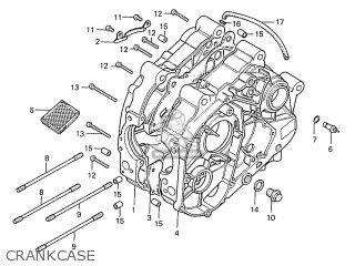 Honda S110 Benly General Export Type 5 Crankcase