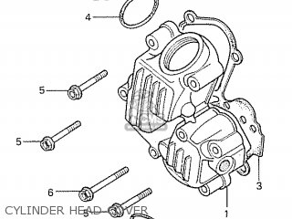 Honda S110 Benly General Export Type 5 Cylinder Head Cover