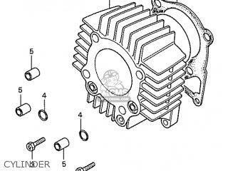 Honda S110 Benly General Export Type 5 Cylinder