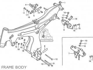 Honda S110 Benly General Export Type 5 Frame Body