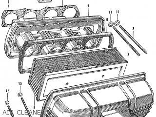 Honda S600 Convertible General Export As285 Air Cleaner
