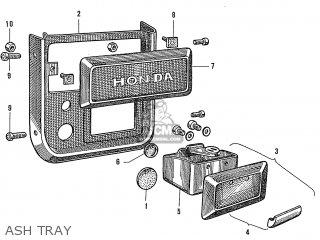 Honda S600 Convertible General Export As285 Ash Tray
