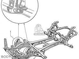 Honda S600 Convertible General Export As285 Body Panel 6