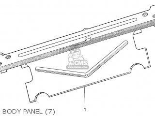 Honda S600 Convertible General Export As285 Body Panel 7