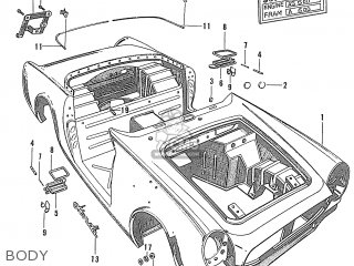 Honda S600 Convertible General Export As285 Body