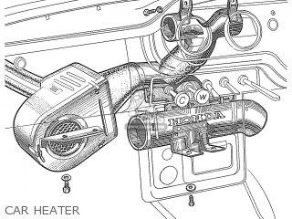 Honda S600 Convertible General Export As285 Car Heater