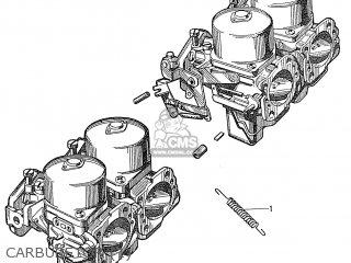 Honda S600 Convertible General Export As285 Carburetor 1