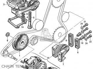 Honda S600 Convertible General Export As285 Chain Tensioner