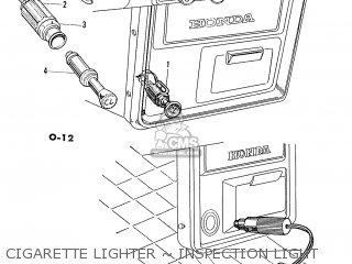 Honda S600 Convertible General Export As285 Cigarette Lighter ~ Inspection Light